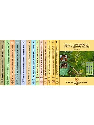 Quality Standards of Indian Medicinal Plants (Set of 14 Volumes)