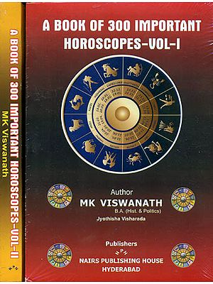 A Book of 300 Important Horoscopes (Set of 2 Volumes)