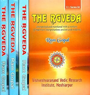 The Rgveda: Mandals 1 to 6 - Interpreted and Translated with a Review of Important Interpretations Ancient and Modern (Set of 4 Volumes)
