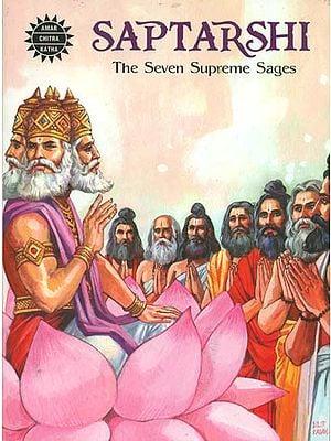 Saptarshi - The Seven Supreme Sages (Comic Book)