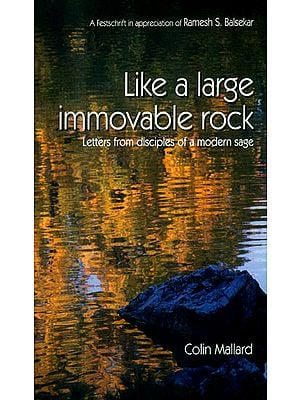 Like a Large Immovable Rock (Letters from Disciples of a Modern Sage)