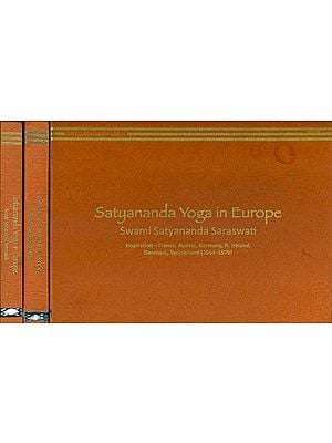 Satyananda Yoga in Europe (Set of 3 Volumes)