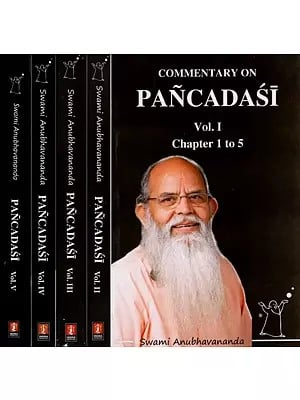 Commentary on Pancadasi (Set of 4 Volumes)