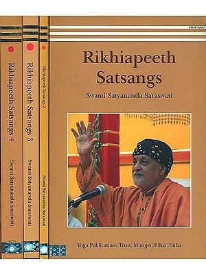 Rikhiapeeth Satsangs (Set of 4 Volumes)