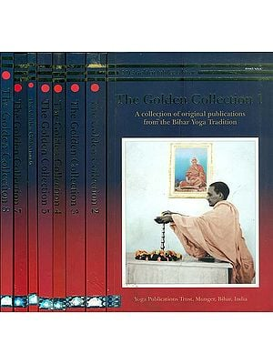 The Golden Collection - A Collection of Original Publications from the Bihar Yoga Tradition (Set of 8 Volumes)