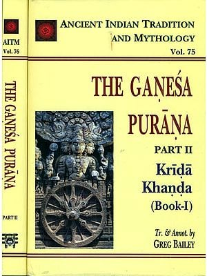 The Ganesa Purana - Krida Khanda (Set of 2 Books)