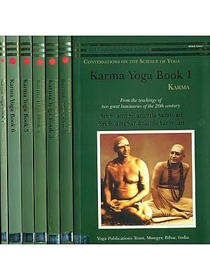 Karma Yoga Book: Conversations of The Science of Yoga (Set of 7 Books)