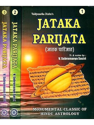 Jataka Parijata (Set of 3 Volumes)