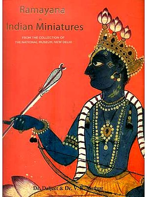 Ramayana in Indian Miniatures - From The Collection of The National Museum