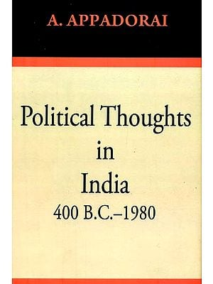 Political Thoughts in India 400 B.C.-1980