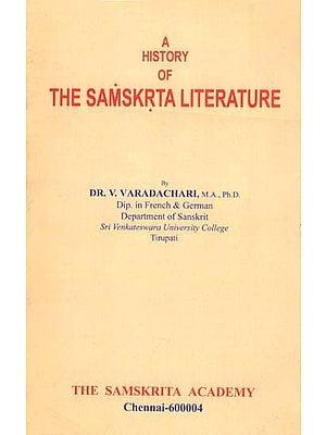 A History of The Samskrta Literature