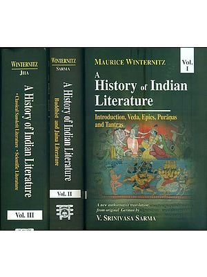 A History of Indian Literature  (Set of 3 Volumes)