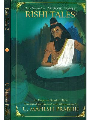Rishis Tales - 21 Forgotten Sanskrit Tales in English (Set of 2 Volumes)