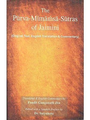 The Purva Mimamsa Sutras of Jaimini