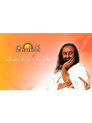 Quotes from Sri Sri (With CD Inside)