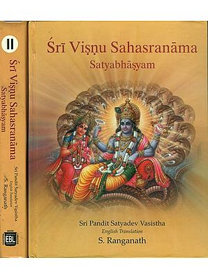 Sri Visnu Sahasranama: A Big Commentary in 2 Volumes