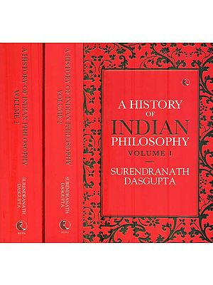 A History of Indian Philosophy (Set of Three Volume )