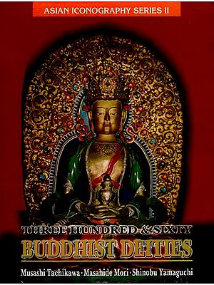Three Hundred and Sixty Buddhist Deities (An Old and Rare Book)