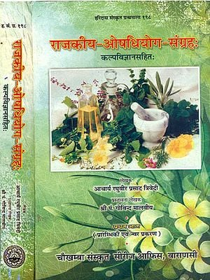 राजकीय ओषधियोग संग्रह:  A Pharmacopoeia of Authentic Ayurvedic Drugs (Set of 2 Volumes)