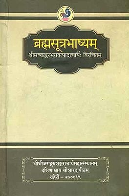 ब्रह्मसूत्रभाष्यम्: Brahma Sutra Bhashya of Sri Shankaracharya