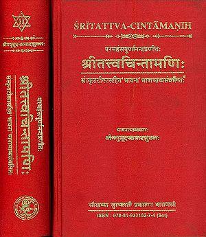 श्रीतत्त्वचिन्तामणि: Sri Tattva Chintamani (Set of 2 Volumes)