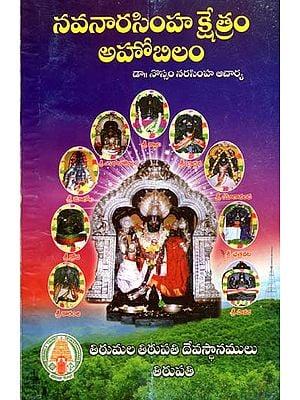 నవనారసిమ్హ క్షేత్రం - అహోబిలం: Navanarasimha Kshetram - Ahobilam