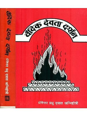 वैदिक देवता दर्शन: Study of Vedic Gods (Set of 2 Volumes)
