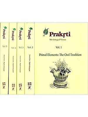 Prakrti, the Integral Vision (5 Volumes)