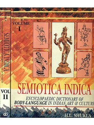 Semiotica Indica (Set of 2 Volume)