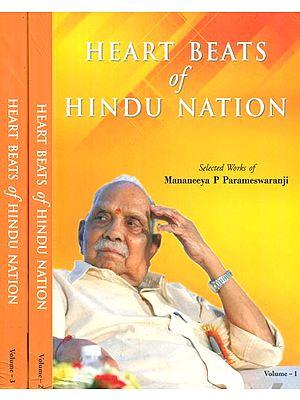 Heart Beats of Hindu Nation (Set of 3 Volumes)