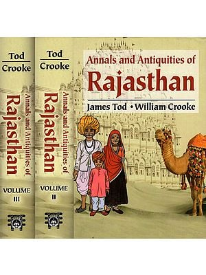 Annals and Antiquites of Rajasthan (Set of 3 Volumes)