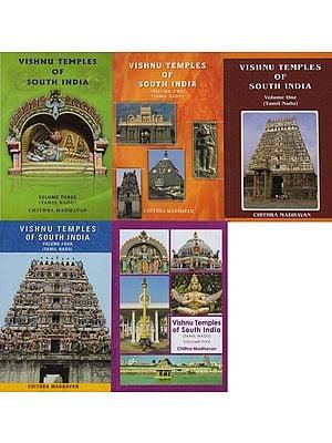 Vishnu Temples of South India (Set of Five Volumes)