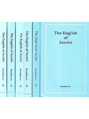 The English of Savitri (Set of 6 Volumes)