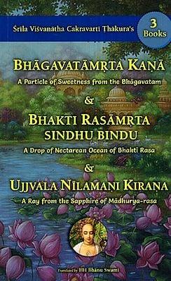 3 Books of Srila Visvanatha Cakravarti Thakura's