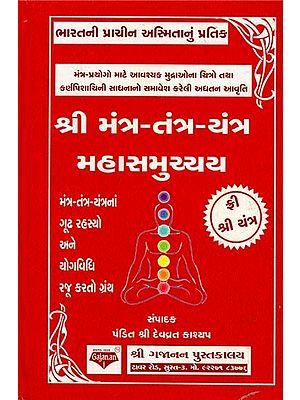 Mantra-Tantra-Yantra Mahasamucchya (Gujarati)
