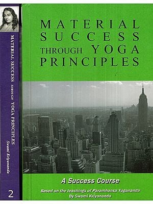 Material Success Through Yoga Principles (Set of 2 Volumes)