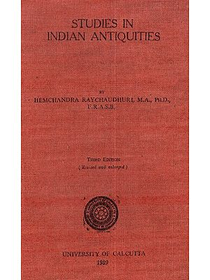Studies in Indian Antiquities (An Old and Rare Book)