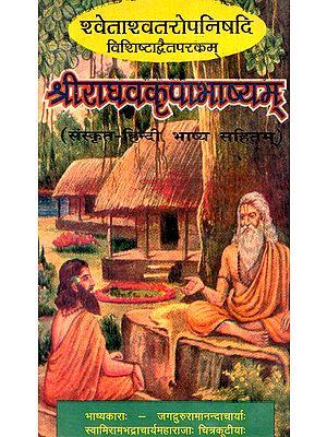 श्वेताश्वतरोपनिषदि विशिष्टाद्वैतपरकम् श्रीराघवकृपाभाष्यम्वकृपाभाष्यम्- Shvetasvatara Upanishad Vishishtadvaitaparakam Sriraghavakripabhashyamvakripabhashyam (An Old And Rare Book)