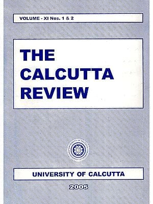 The Calcutta Review (Volume- XI Nos. 1 and 2)