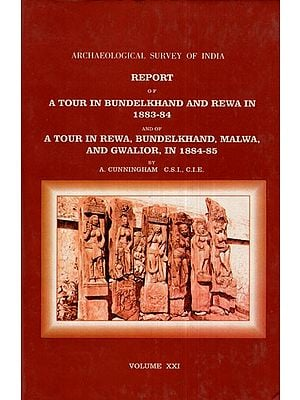 ASI Report of A Tour in Bundelkhand and Rewa in 1883- 84 and of A Tour in Rewa, Bundelkhand, Malwa, and Gwalior, in 1884-85 (Volume- XXI)