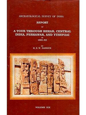 ASI Report of A Tour Through Behar, Central India, Peshawar, and Yusufzai in 1881- 82 (Volume XIX)