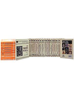 Skanda Purana (Set of 31 Books in English and Sanskrit)