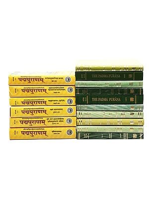 Padma Purana (Set of 16 Books in English and Sanskrit)