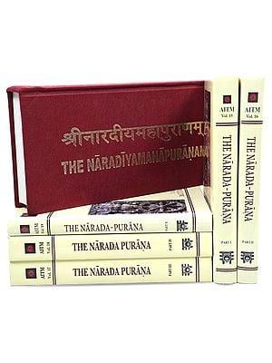 Narada Purana (Set of 6 Books in English and Sanskrit)