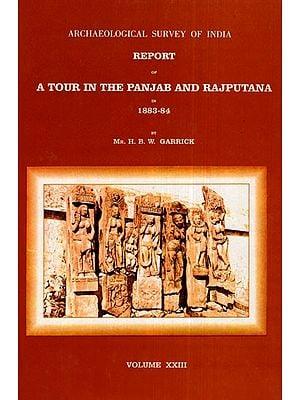 ASI Report of A Tour in The Panjab and Rajputana in 1883-84 (Volume XXIII)