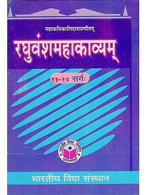 रघुवंशमहाकाव्यम् - Raghuvansha Mahakavyam (Cantos 13-14)