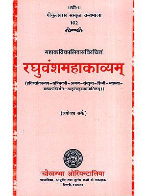 रघुवंशमहाकाव्यम् - Raghuvansha Mahakavyam (Canto-13)