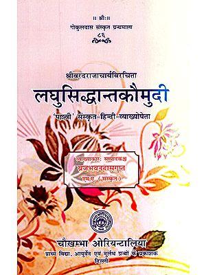 लघुसिद्धान्तकौमुदी - Laghu Siddhanta Kaumudi of Pandit Varadaraja