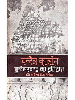 चन्देल कालीन बुन्देलखण्ड का इतिहास - History of Chandel Kalin in Bundelkhand (An Old and Rare Book)