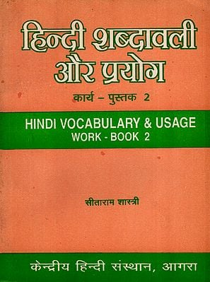 हिन्दी शब्दावली और प्रयोग: Hindi Vocabulary and Usage (An Improvement Exercise-Book on Semantic Problem- Work Book 2)